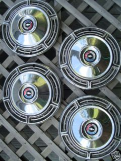1968 Chevrolet SS Chevelle Hubcaps Wheel Covers Wheels