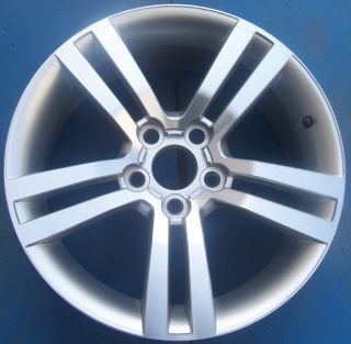 ONE 2008 2009 PONTIAC G8 18 FACTORY OEM WHEEL RIM MACHINED W/SILVER