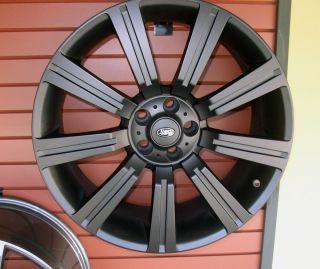 22 Black Wheels Range Rover Land Rover HSE Sport LR3 LR4 358 22x10