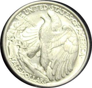 1945 Walking Liberty Silver Half Dollar High Grade BU Gem Uncirulated