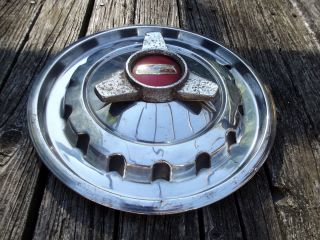 57 1957 Chevy Spinner Hubcap Wheel Cover Original Equipment 14