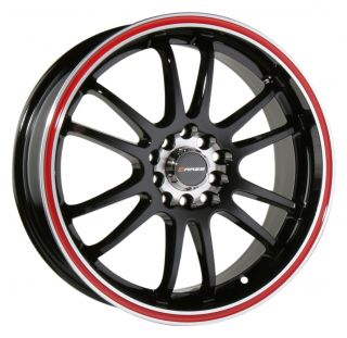 18 Black Wheel Rim Mitsubishi Lancer Evolution EVO VIII VIIII 350Z