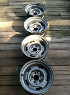 15 x 8 Chevy Rally Wheels