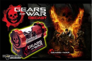 Hot Wheels Custom Gears of War Custom Convoy by The Boxman