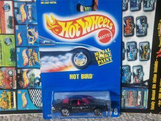 HOT WHEELS HOT BIRD PONTIAC TRANS AM BLUE CARD SERIES LIMITED FIREBIRD