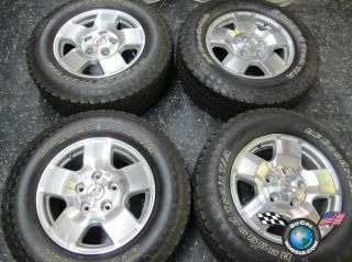 Toyota Tundra Factory 18 Wheels Tires OEM Rims Sequoia BFG 275 65 18