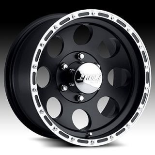 Eagle Series 185 Black w Superfinish Ring 8x170 Wheels Rims
