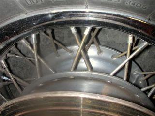 2003 Suzuki VS1400 Intruder Rear Rim Wheel Disc