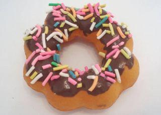 3D Fridge Magnet Miniature Soft Doughnut Wfragrance