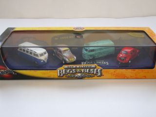 100 Hot Wheels Hot Classic VW Bugs and Busses 2002 4 Pack
