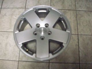 18 Jeep Wrangler Sahara Factory Silver Wheels Rims