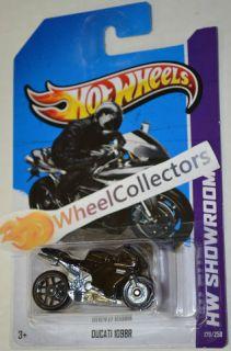 Ducati 1098R Black 179 2013 Hot Wheels Case F