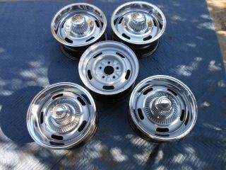GM 14x6 XB Code Rally Wheels SS Camaro Nova Chevelle Disc Brake