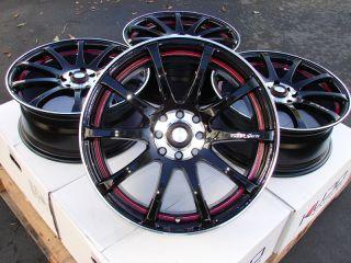 17 Effect Wheels Rims 4 Lugs Integra Aveo Cobalt Geo Prizm Escort
