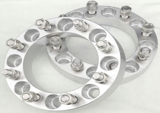 2pc 2 Chevy Silverado 2011 2012 2500 3500 Non Dually Wheel Spacers