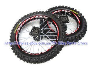 14 12 inch Kenda Tyre Black Alloy Aluminium Rims Wheels