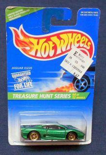 1995 Mattel Hot Wheels Treasure Hunt Series Car 4 Jaguar XJ220 NIP