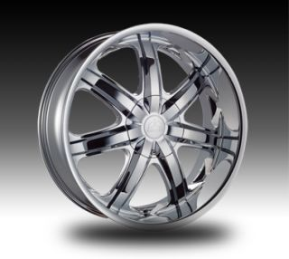 20 inch Borghini B7 Chrome New Wheels Tires Fit 300 Magnum Challenger
