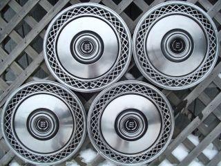 Cougar Hubcaps Wheel Covers Center Caps Antique Vintage Rims
