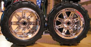 New Bright RC Jeep Wrangler JK Chevy Silverado Wheels