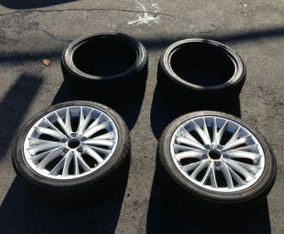 18 Wheels And snow Tires Continental Conti Winter Contact 225 40 R18