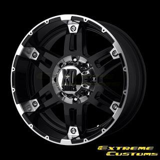 XD Series XD797 Spy Black Machined 5 6 8 Lugs Wheels Rims FREE LUGS