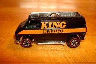 Hot Wheels Original Redline KING Radio Van 1974 Hong Kong Excellent