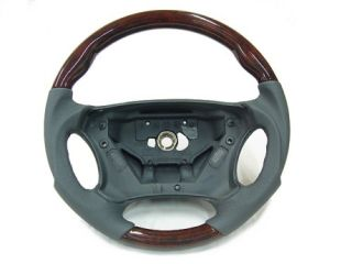 Mercedes Gray W203 C240 C320 Sport Wood Steering Wheel