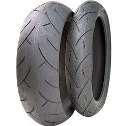 Full Bore M1 Tire Combo 120 70 17 and 190 50 17