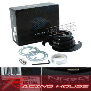 NRG Quick Release Kit SRK 650BK 6 Hole Camero Mustang