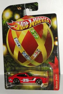 HOT WHEELS 2011 DATSUN 240Z HOLIDAY HOT RODS  EXCULSIVES VERY
