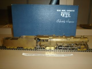 Brass Steam Engine HO Milwaukee f6 4 6 4 DC United Scale Models