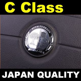 AMG Steering Wheel Emblem Horn Badge Mercedes Benz C Class W201 W202