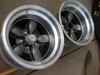 Wheels American Racing 200S Daisy Mags Rims Mopar Ford 5x4 5