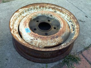 ford steel 16 inch rim wheel 1940 hot rat rod custom 1932 flathead