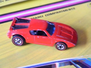 RARE~1973~REDLINE~HOT WHEELS~ XPLODER   BRIGHT RED   VHTF   LOOSE~VERY