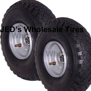 260x85 Hand Truck Pressure Washer Wagon Tire Rim Wheel Assemby