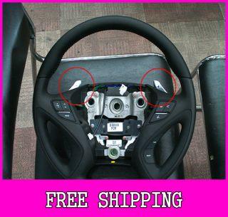 Kspeed Hyundai 2011 Sonata YF Genuine Leather Steering Wheel Paddle