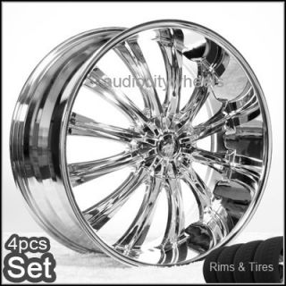 22 Wheels and Tires Rims 300C Magnum Charger Challenger