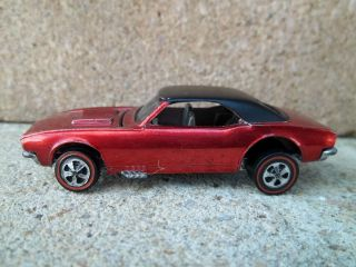 Hot Wheels Redline Custom Camaro Brilliant Red