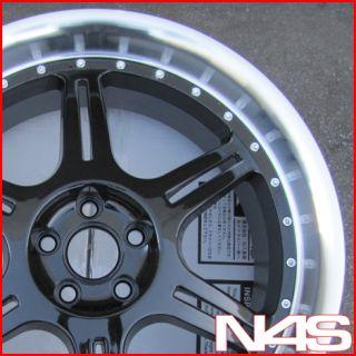 18 Stern St 2 Black Volkswagen VW Golf Jetta Wheels Rims