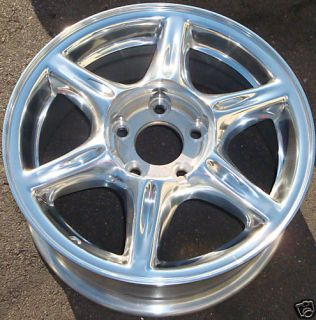 16 99 00 Oldsmobile Alero Chrome Alloy Wheel Rim