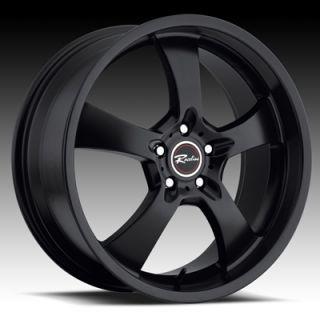 Black Raceline Maxim 5 Wheels Rims Chevrolet Camaro Pontiac GTO G8