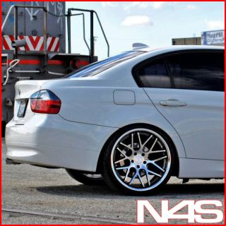BMW E60 M5 VERTINI MAGIC CONCAVE STAGGERED WHEELS RIMS HANKOOK TIRES