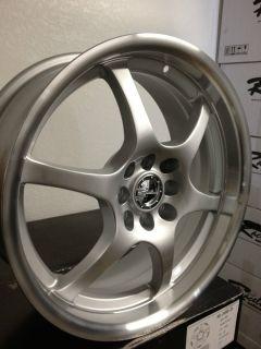 17 inch Raceline Silver Wheels Rims Chevrolet Cobalt Honda Civic 4x100