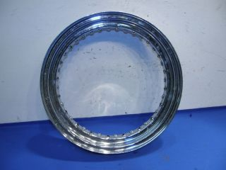 Triumph BSA Chopper Rear Wheel Rim Chrome Old School D246