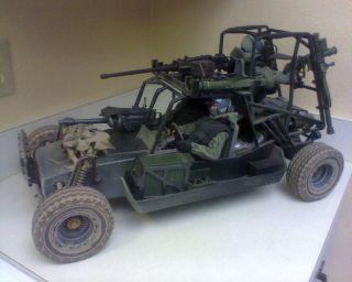 US Navy Seals in Desert Patrol Vehicle Dune Buggy Sand Rail Used