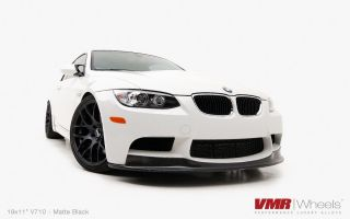 Staggered Matte Black Wheel 5x120 Fit BMW 325 328 330 335 M3
