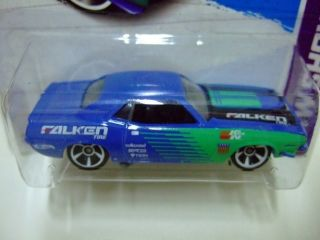 Hot Wheels 2013 247 70 Plymouth AAR Cuda HW Showroom