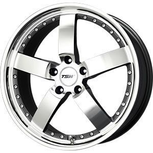 New 17x8 5x114 3 TSW Vairano Gun Metal Wheels Rims